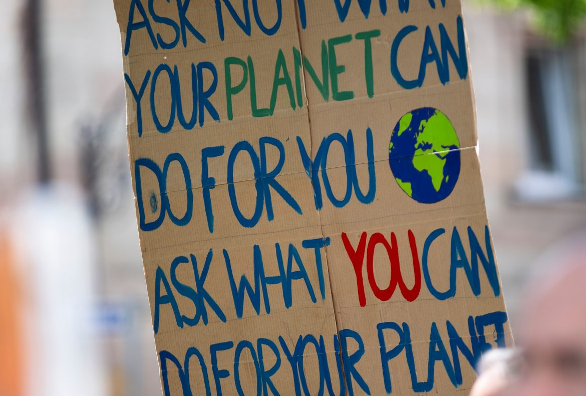 Ask not what your planet can do for you. Ask what you can do for your planet.