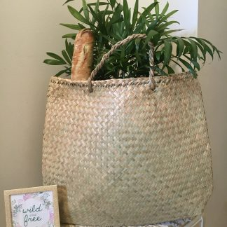 100% biodegradable Seagrass Market Bag