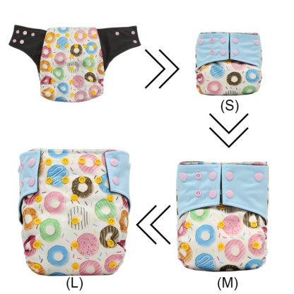 2020 Baby Washable Eco-Friendly Cloth Diaper Adjustable Nappy Reusable Cloth Fast-dry Bamboo Carbon Fiber Leakproof Diapers New